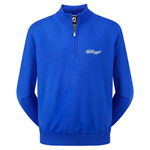 9931 Footjoy Lambswool 1/2 Zip Sweater