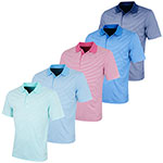 KX59 Greg Norman Performance Bar Stripe Polo Shirt (KX59)